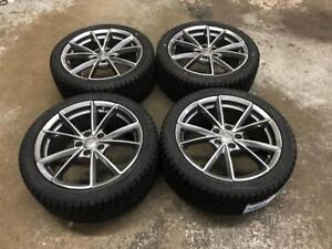 18 Audi Wheels, And 245/40R18 Winter Tires (A4, S4)