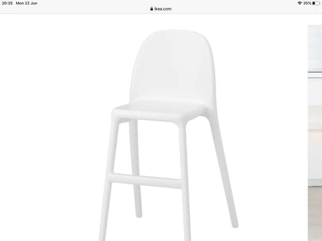 Ikea urban kids chair in white Gumtree