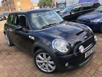 MINI COOPER S 1.6 2007 FACELIFT 2 KEYS MINT LEATHERS XENON HPI CLEAR FULL HIS...