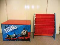 Thomas the tank storage and book holder