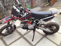 Lucky LMX 125 off road pit bike 2013 model