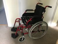 ENIGMA WHEEL CHAIR (NEW AND NEGOTIABLE)