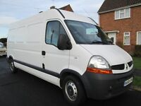 RENAULT MASTER LM35 120dci WHITE, 96,000 miles, Full Electric Pack, Air Con, Low Mileage for year