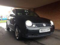 Volkswagen Lupo 1.7 SDI black mot taxed
