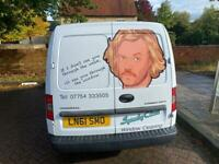 Window Cleaning Van with phone, fully working pole system and website