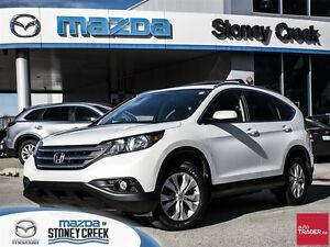 2014 Honda CR-V EX-L AWD, ACCID FREE,LTHR, B/CAM, B/T, SUN ROOF!