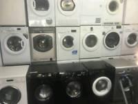 Fridge freezers, integrated ovens, washing machines 6-12 kg