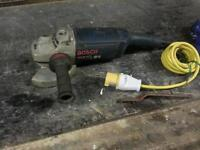 3 Bosch gws professional angle grinders