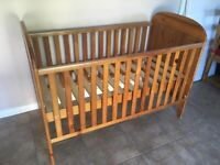 John Lewis drop side cot bed