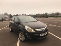 Vauxhall corsa cdti diesel 2013 lady owner clean car px swap wel