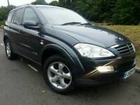 SSANGYONG KYRON M270 CDI SPORT*2009 59*NEW SHAPE*AUTOMATIC*LEATHER*MINT COND#SUV#JEEP#X5#MERCEDES ML