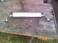 stainless steel mini exhaust stamped mini