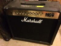 Marshall MG100FX amplifier