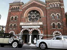 WEDDING CAR HIRE, ROLLS ROYCE PHANTOM, RANGE ROVER SVR, VINTAGE AND CLASSIC CAR HIRE LONDON