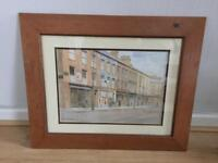 4 x framed prints of Belfast