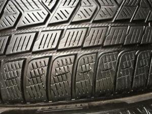 2 pneus 295/35/21 Pirelli scorpion winter 6-7/32