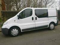 Vauxhall Vivaro 6 seater van
