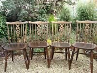 Dining chairs (Vintage) x 4