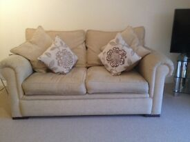 A pair of John Lewis 2 seater sofas for sale in very good condition