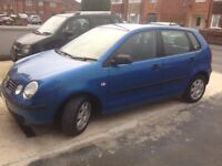 VW POLO TWIST, AUTOMATIC,GOOD CONDITION,2005,AND 5 DOOR