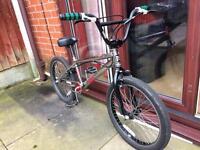 Custom built haro bmx bike