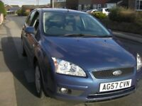 Ford Focus Style 1.8 1st reg 31/1/2008. M O T 31/1/2019