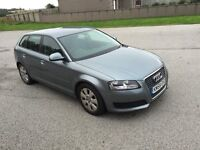 Audi A3 2008 1.9 Diesel (1 year full MOT & £30 annual road tax)