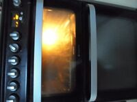 Hotpoint ultima electric cooker 60cms wide double oven