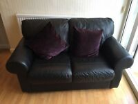 Leather sofa - excellent condition