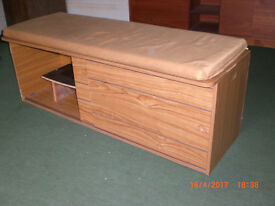 Storage bench for kitchen or living room
