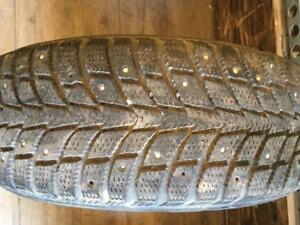 1 pneus d hiver 185/65r14 nokian a clou