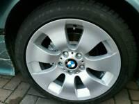 Genuine BMW 3 series 17 Alloy Wheels & Winter Tyres M+S - Goodyear Eagle Ultra Grip