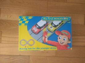 my first scalextric complete set, used, perfect condition