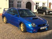 Subaru sti type uk for sale 2002
