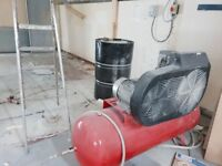 Large Air Compressor Excellent Condition