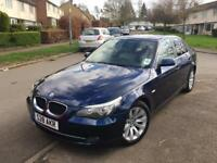 BMW 5 Series 520d SE 2008 Facelift LCI Full Leather Excellent condition, 1 Years MOT