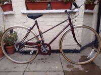 Vintage Raleigh Misty Town Bike