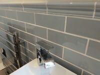 Beautiful quality Winchester ceramic tiles in pale blue