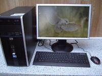HP COMPAQ 6000 TOWER PC SET UP.