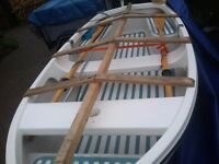 10ft fibreglass dingy