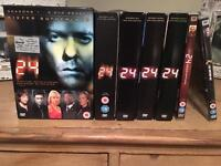 Complete 24 DVD box set
