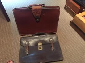 Two vintage bags