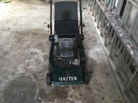 Hayter Harrier 48 Briggs &Stratton 5hp Petrol self propelled with roller lawnmower