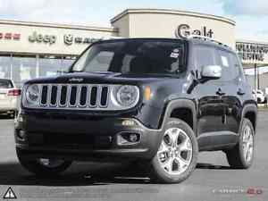 2016 Jeep Renegade LIMITED 4X4 X-COMPANY DEMO | NAV 6.5TOUCH