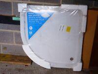 Wickes quadrant shower tray