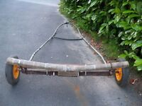 Boat Dinghy launching trolley