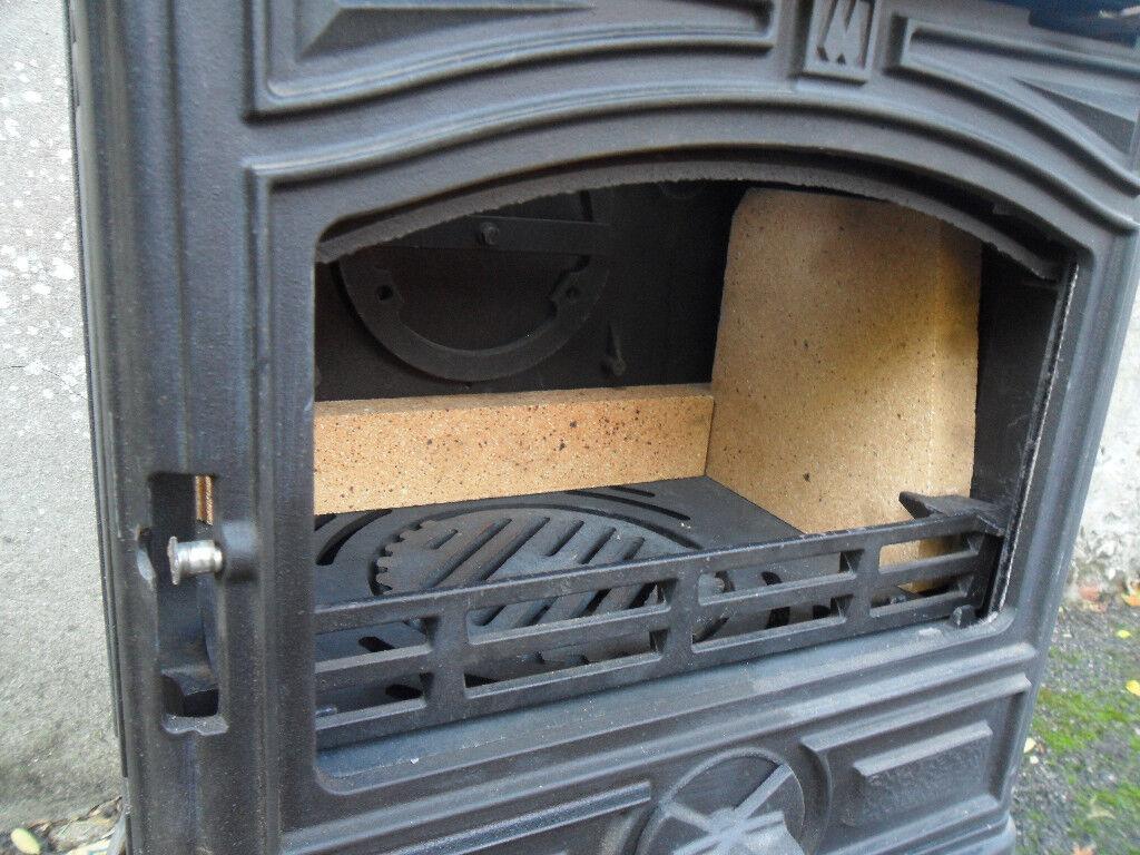 Stove 5 Kw Unused Franco Belge Classic Montfort Cast Iron