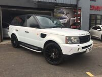 Land Rover Range Rover Sport 2.7 TD V6 SE 2012 PEARL WHITE AUTOBIOGRAPHY CONVERSION