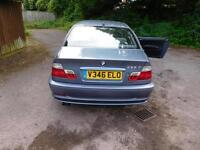 BMW 323i Coupe, VGC for age and milage, MOT until Feb 2017