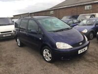 2002 DIESEL FORD GALAXY AUTOMATIC DIESEL 7 SEATER LEATHER NICE DRIVING FAMILY CAR PX WELCOME MOT 1